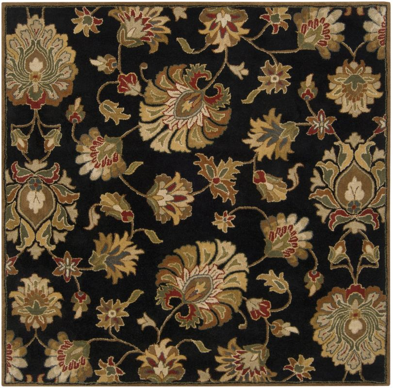 Surya CAE-1027 Caesar Hand Tufted Wool Rug Gray 6 Square Home Decor