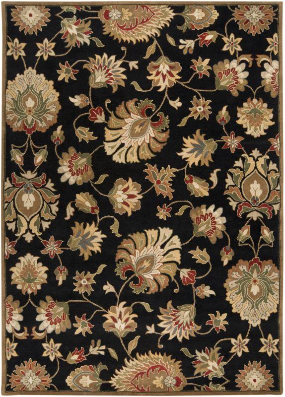 Surya CAE-1027 Caesar Hand Tufted Wool Rug Gray 8 x 11 Home Decor Rugs