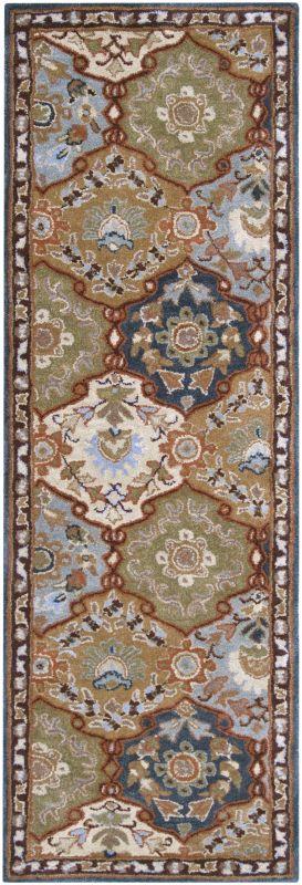 Surya CAE-1032 Caesar Hand Tufted Wool Rug Gray 2 1/2 x 8 Home Decor