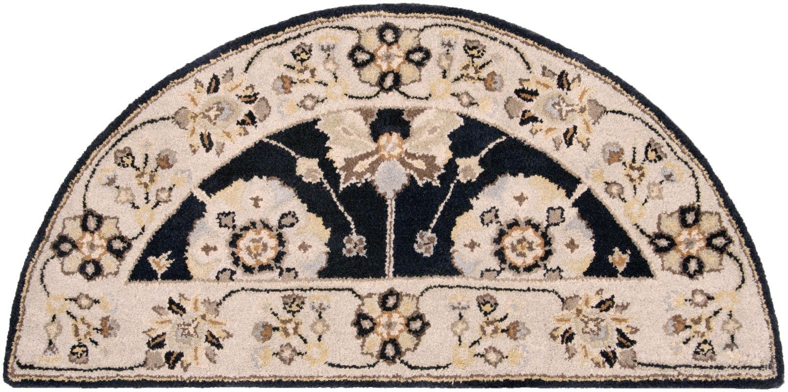 Surya CAE-1033 Caesar Hand Tufted Wool Rug Gray 2 x 4 Hearth Home