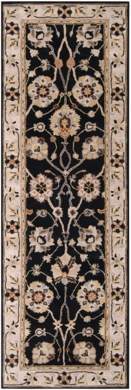 Surya CAE-1033 Caesar Hand Tufted Wool Rug Gray 2 1/2 x 8 Home Decor