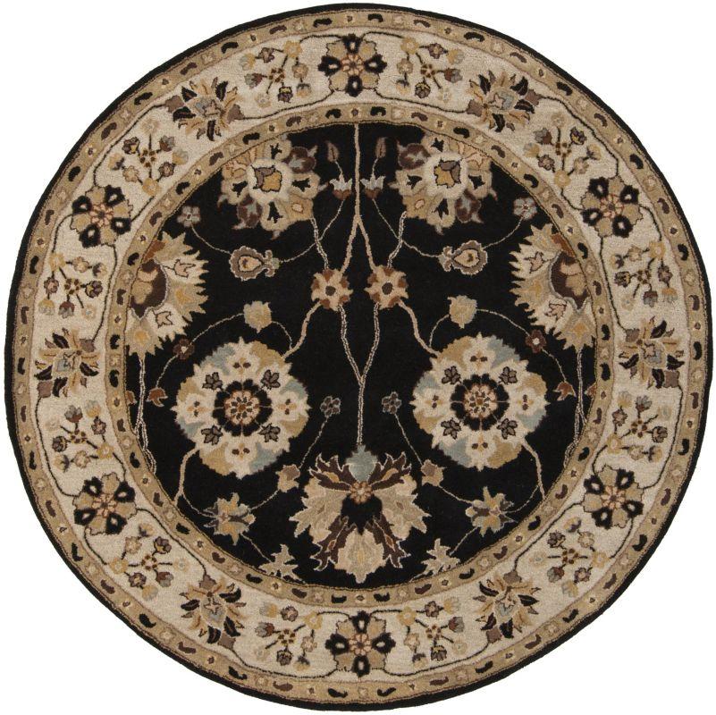 Surya CAE-1033 Caesar Hand Tufted Wool Rug Gray 10 Round Home Decor