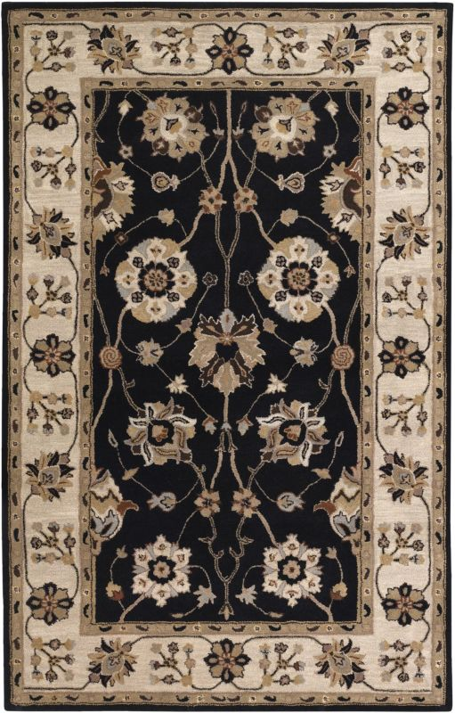 Surya CAE-1033 Caesar Hand Tufted Wool Rug Gray 10 Square Home Decor