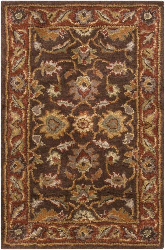 Surya CAE-1036 Caesar Hand Tufted Wool Rug Brown 2 x 3 Home Decor Rugs
