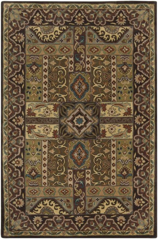 Surya CAE-1048 Caesar Hand Tufted Wool Rug Green 2 x 3 Home Decor Rugs
