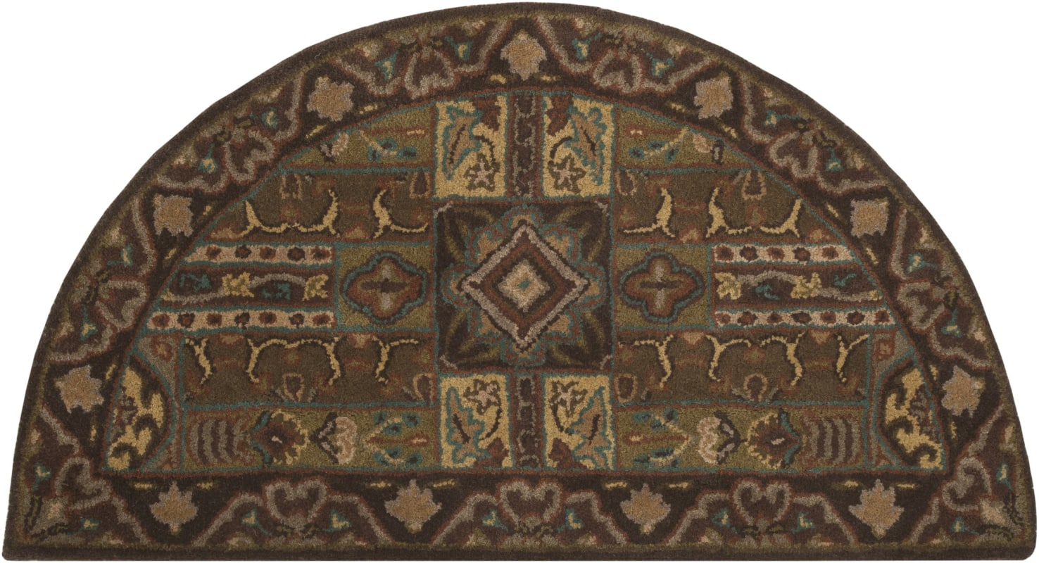 Surya CAE-1048 Caesar Hand Tufted Wool Rug Green 2 x 4 Hearth Home