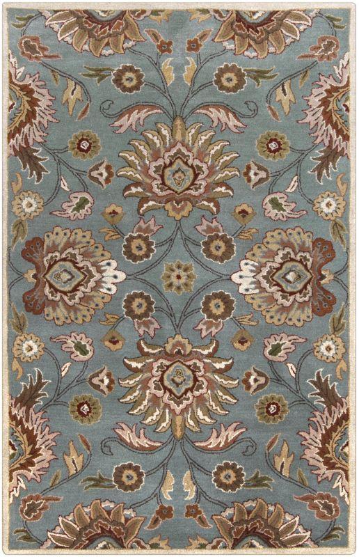 Surya CAE-1052 Caesar Hand Tufted Wool Rug Green 4 x 6 Home Decor Rugs