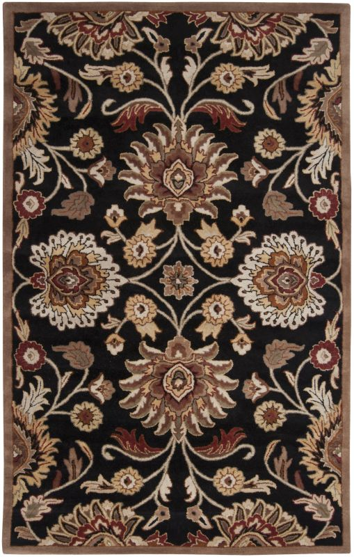 Surya CAE-1053 Caesar Hand Tufted Wool Rug Gray 10 x 14 Home Decor
