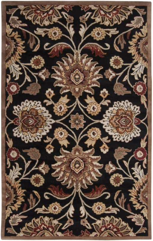 Surya CAE-1053 Caesar Hand Tufted Wool Rug Gray 5 x 8 Home Decor Rugs