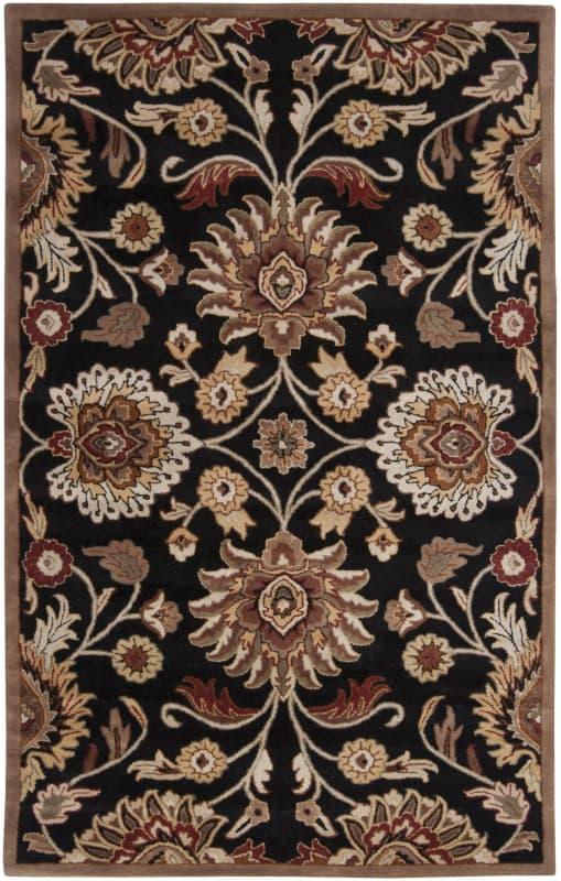 Surya CAE-1053 Caesar Hand Tufted Wool Rug Gray 6 x 9 Home Decor Rugs