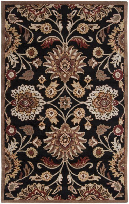 Surya CAE-1053 Caesar Hand Tufted Wool Rug Gray 7 1/2 x 9 1/2 Home