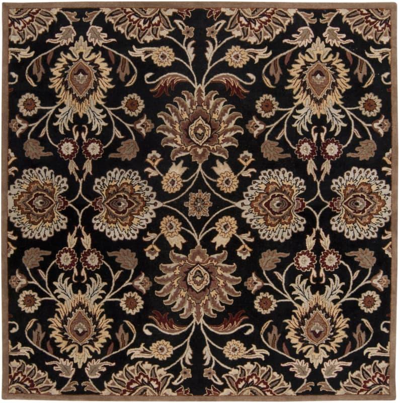 Surya CAE-1053 Caesar Hand Tufted Wool Rug Gray 8 Square Home Decor