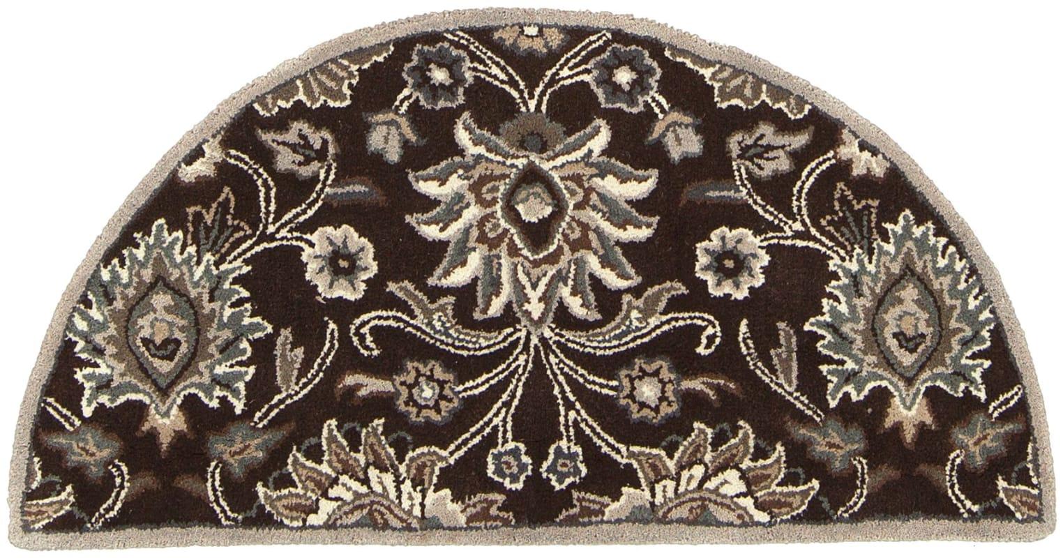 Surya CAE-1063 Caesar Hand Tufted Wool Rug Brown 2 x 4 Hearth Home
