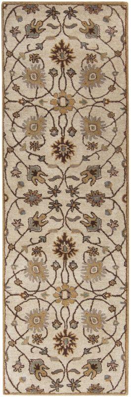 Surya CAE-1081 Caesar Hand Tufted Wool Rug Off-White 2 1/2 x 8 Home Sale $226.80 ITEM: bci2669896 ID#:CAE1081-268 UPC: 764262713886 :