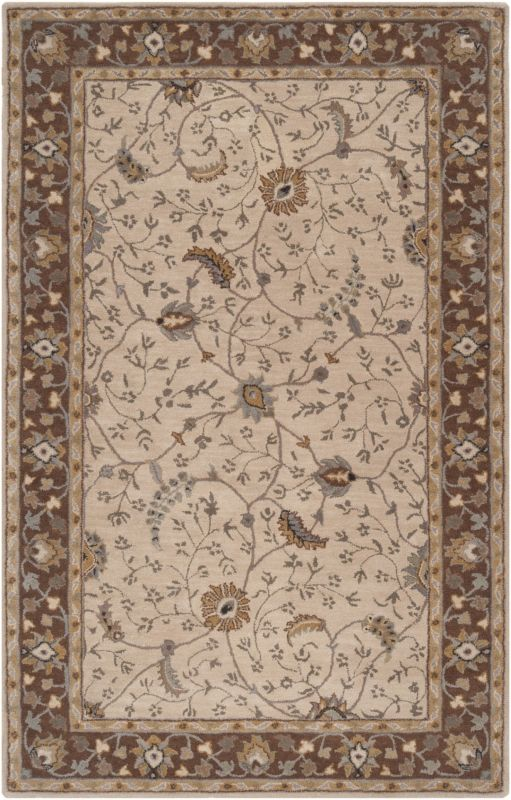 Surya CAE-1082 Caesar Hand Tufted Wool Rug Off-White 5 x 8 Home Decor Sale $369.60 ITEM: bci2669923 ID#:CAE1082-58 UPC: 764262714135 :