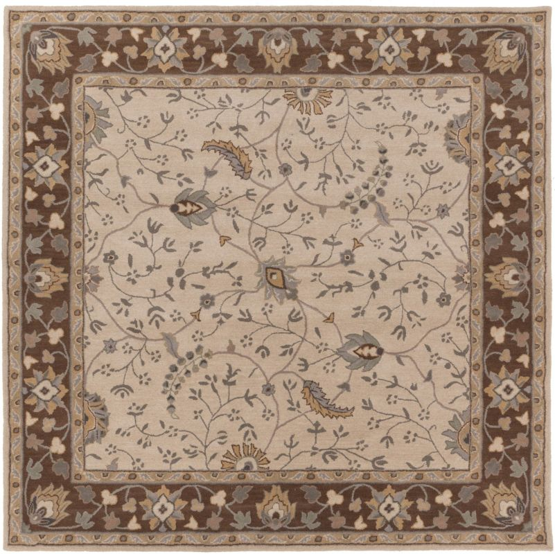 Surya CAE-1082 Caesar Hand Tufted Wool Rug Off-White 8 Square Home Sale $722.40 ITEM: bci2669932 ID#:CAE1082-8SQ UPC: 764262714180 :