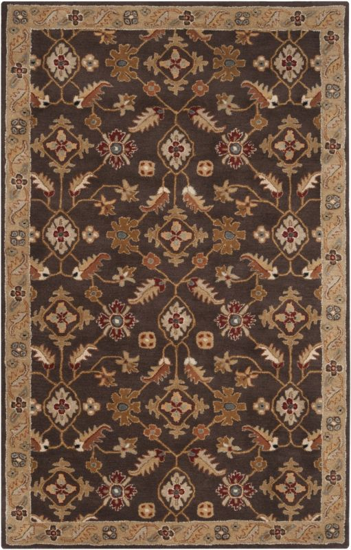 Surya CAE-1083 Caesar Hand Tufted Wool Rug Brown 4 x 6 Home Decor Rugs Sale $271.80 ITEM: bci2669942 ID#:CAE1083-46 UPC: 764262714340 :