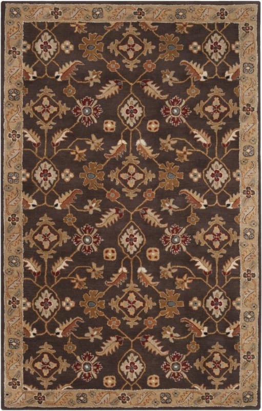 Surya CAE-1083 Caesar Hand Tufted Wool Rug Brown 6 x 9 Home Decor Rugs Sale $555.60 ITEM: bci2669946 ID#:CAE1083-69 UPC: 764262714371 :