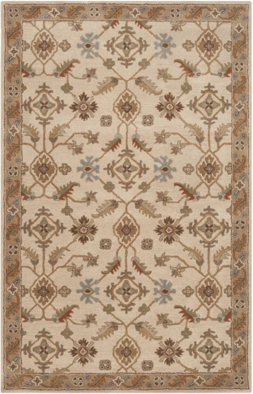 Surya CAE-1084 Caesar Hand Tufted Wool Rug Off-White 3 x 12 Home Decor