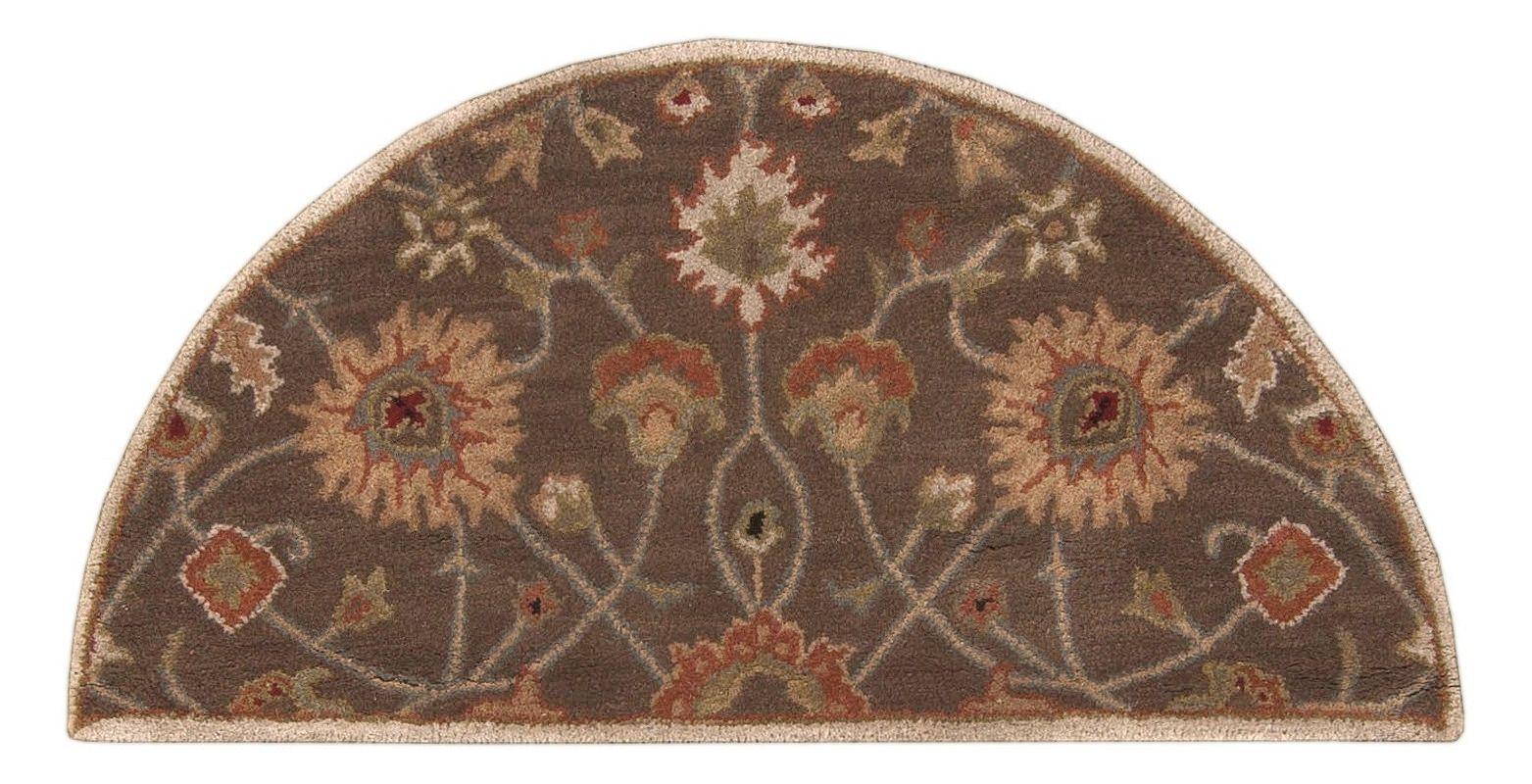 Surya CAE-1086 Caesar Hand Tufted Wool Rug Brown 2 x 4 Hearth Home