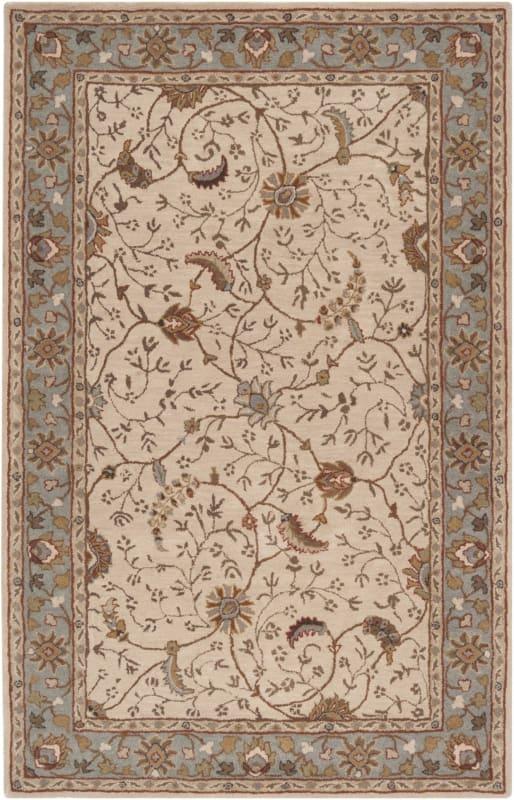 Surya CAE-1088 Caesar Hand Tufted Wool Rug Off-White 10 x 14 Home Sale $1583.40 ITEM: bci2670002 ID#:CAE1088-1014 UPC: 764262715538 :