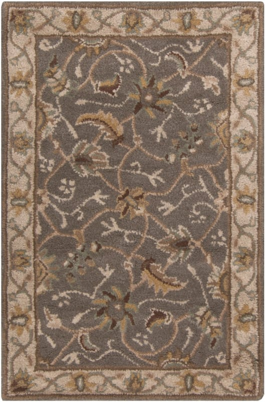Surya CAE-1093 Caesar Hand Tufted Wool Rug Green 2 x 3 Home Decor Rugs
