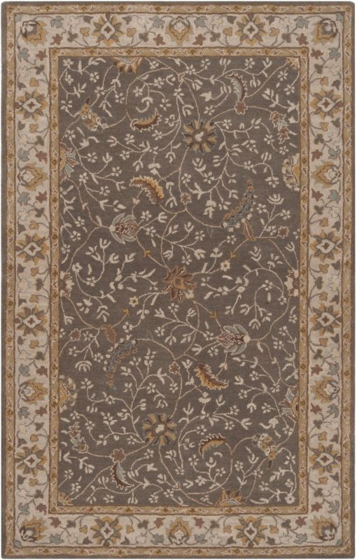 Surya CAE-1093 Caesar Hand Tufted Wool Rug Green 5 x 8 Home Decor Rugs Sale $369.60 ITEM: bci2670074 ID#:CAE1093-58 UPC: 764262716559 :
