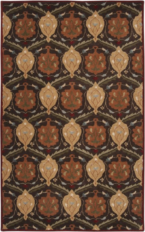 Surya CAE-1094 Caesar Hand Tufted Wool Rug Brown 10 x 14 Home Decor Sale $1583.40 ITEM: bci2670087 ID#:CAE1094-1014 UPC: 764262716856 :