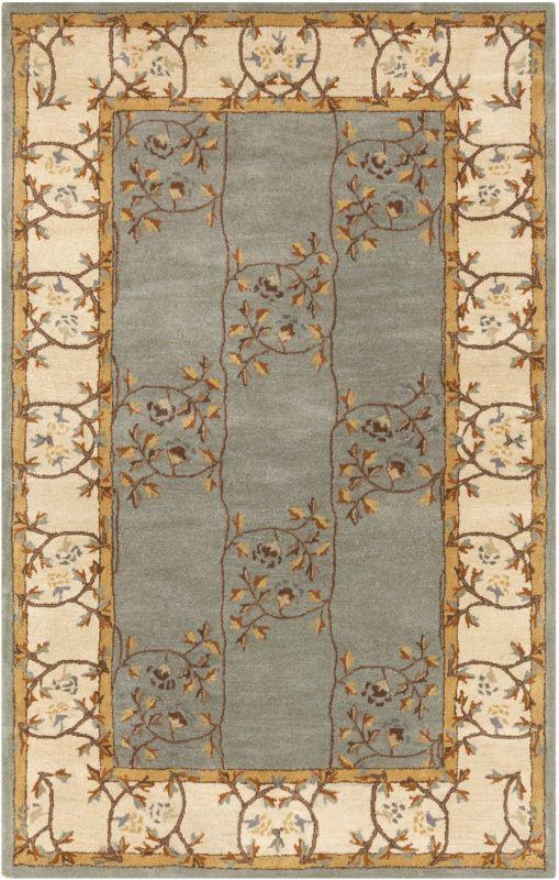 Surya CAE-1100 Caesar Hand Tufted Wool Rug Green 2 x 3 Home Decor Rugs Sale $77.40 ITEM: bci2670123 ID#:CAE1100-23 UPC: 764262844290 :