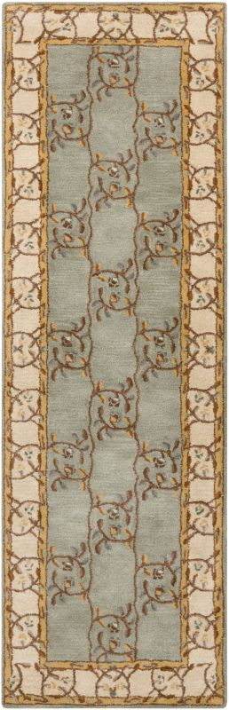 Surya CAE-1100 Caesar Hand Tufted Wool Rug Green 2 1/2 x 8 Home Decor Sale $226.80 ITEM: bci2670125 ID#:CAE1100-268 UPC: 764262844153 :