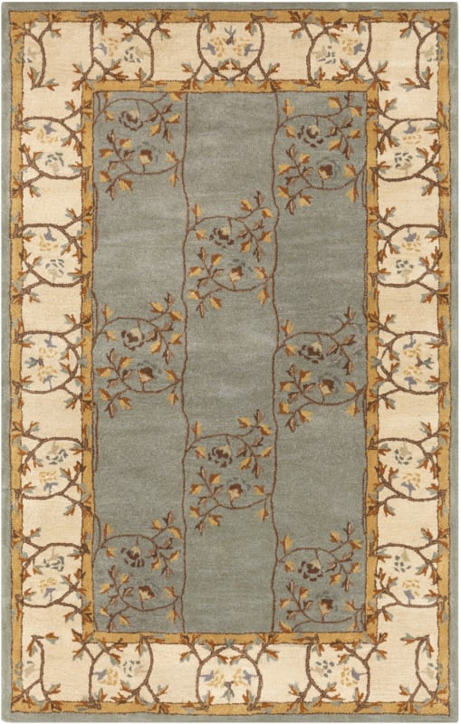 Surya CAE-1100 Caesar Hand Tufted Wool Rug Green 8 x 11 Home Decor Sale $813.60 ITEM: bci2670137 ID#:CAE1100-811 UPC: 764262844245 :