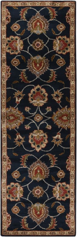 Surya CAE-1102 Caesar Hand Tufted Wool Rug Gray 2 1/2 x 8 Home Decor Sale $226.80 ITEM: bci2670147 ID#:CAE1102-268 UPC: 764262858587 :