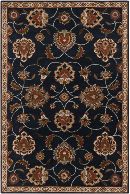 Surya CAE-1102 Caesar Hand Tufted Wool Rug Gray 5 x 8 Home Decor Rugs Sale $369.60 ITEM: bci2670152 ID#:CAE1102-58 UPC: 764262858617 :