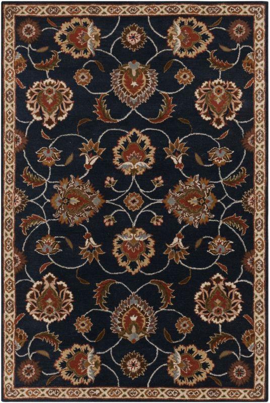 Surya CAE-1102 Caesar Hand Tufted Wool Rug Gray 8 x 11 Home Decor Rugs