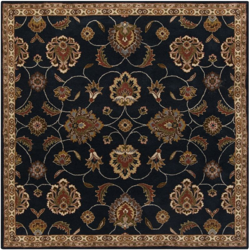 Surya CAE-1102 Caesar Hand Tufted Wool Rug Gray 8 Square Home Decor Sale $722.40 ITEM: bci2670161 ID#:CAE1102-8SQ UPC: 764262858662 :