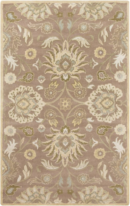 Surya CAE-1108 Caesar Hand Tufted Wool Rug Off-White 3 x 12 Home Decor