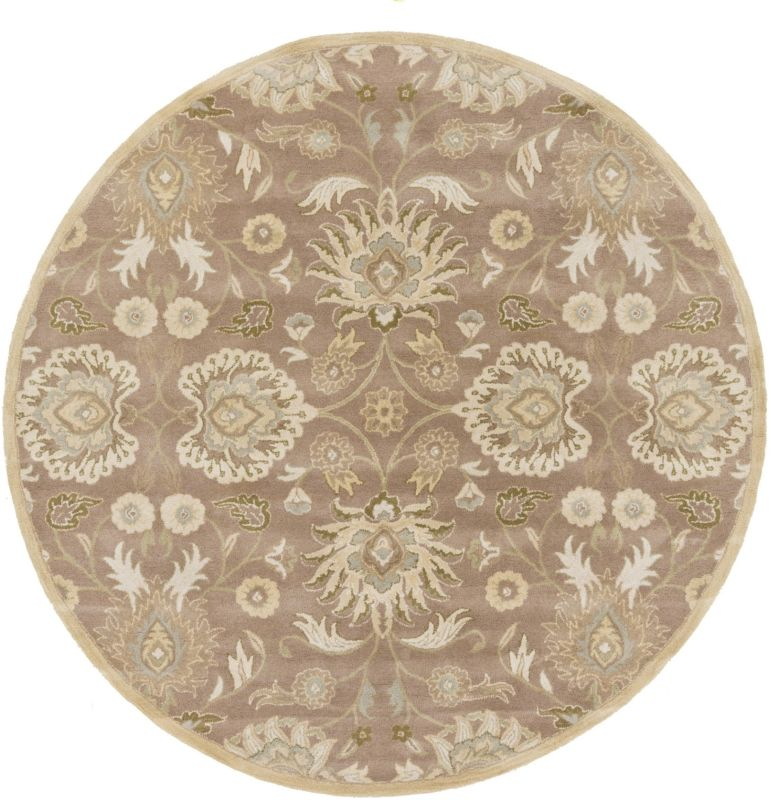 Surya CAE-1108 Caesar Hand Tufted Wool Rug Off-White 10 Round Home Sale $1073.40 ITEM: bci2670522 ID#:CAE1108-99RD UPC: 764262926682 :