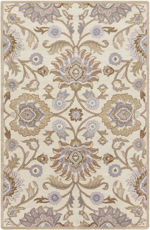 Surya CAE-1109 Caesar Hand Tufted Wool Rug Off-White 4 x 6 Home Decor Sale $271.80 ITEM: bci2670530 ID#:CAE1109-46 UPC: 764262926989 :