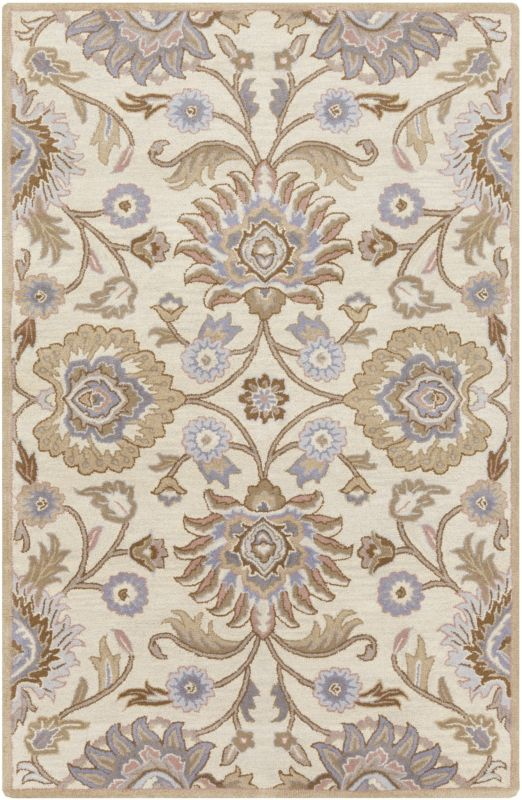 Surya CAE-1109 Caesar Hand Tufted Wool Rug Off-White 8 x 11 Home Decor Sale $813.60 ITEM: bci2670540 ID#:CAE1109-811 UPC: 764262927054 :
