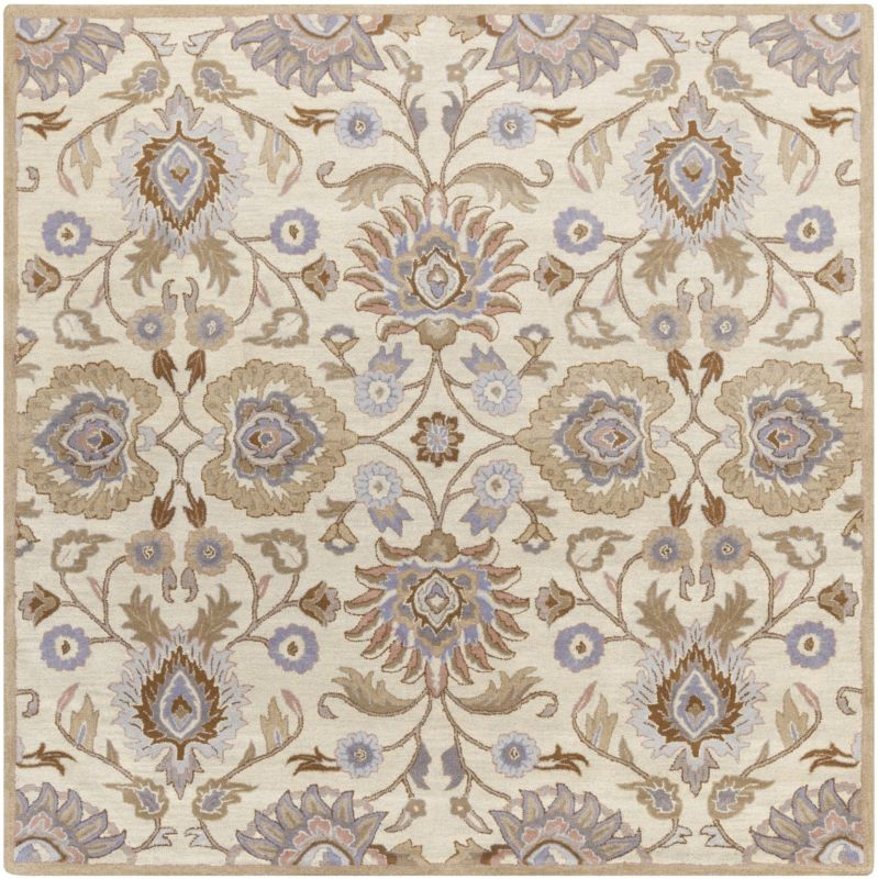 Surya CAE-1109 Caesar Hand Tufted Wool Rug Off-White 8 Square Home Sale $722.40 ITEM: bci2670542 ID#:CAE1109-8SQ UPC: 764262927047 :