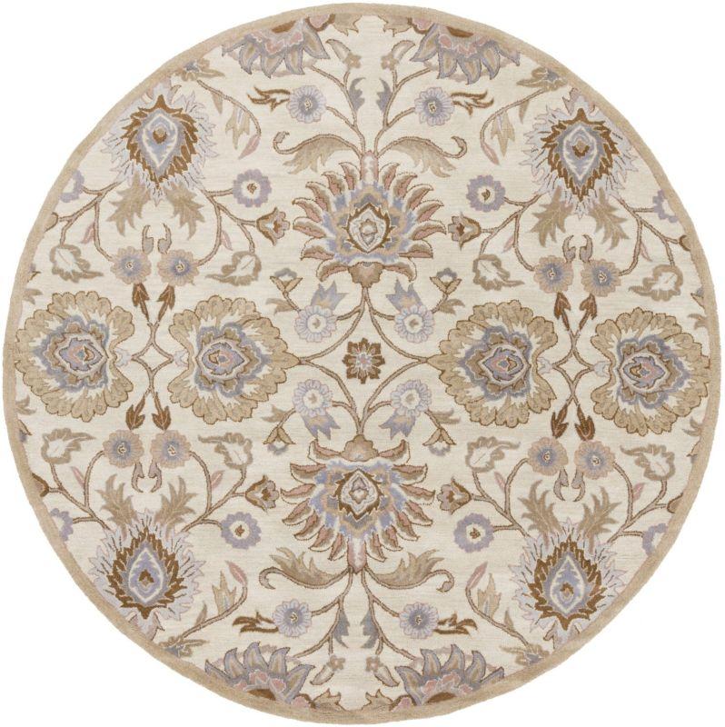 Surya CAE-1109 Caesar Hand Tufted Wool Rug Off-White 10 Round Home