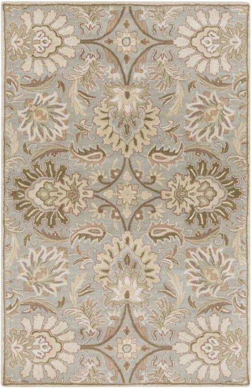 Surya CAE-1111 Caesar Hand Tufted Wool Rug Gray 12 x 15 Home Decor Sale $2034.60 ITEM: bci2670547 ID#:CAE1111-1215 UPC: 764262565515 :