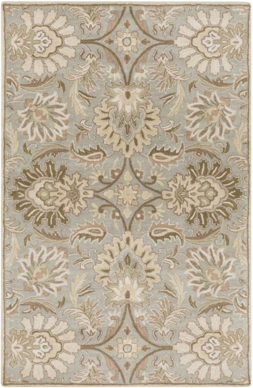 Surya CAE-1111 Caesar Hand Tufted Wool Rug Gray 2 x 3 Home Decor Rugs Sale $77.40 ITEM: bci2670548 ID#:CAE1111-23 UPC: 764262565461 :