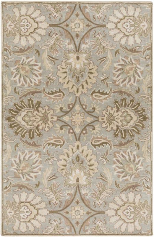 Surya CAE-1111 Caesar Hand Tufted Wool Rug Gray 7 1/2 x 9 1/2 Home Sale $659.40 ITEM: bci2670560 ID#:CAE1111-7696 UPC: 764262565386 :