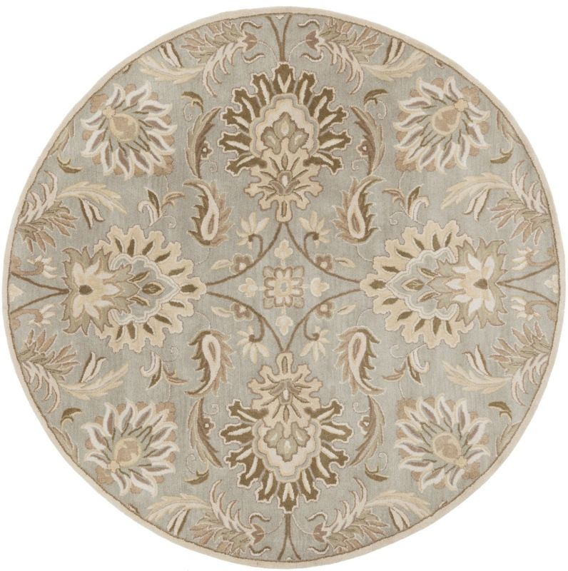 Surya CAE-1111 Caesar Hand Tufted Wool Rug Gray 10 Round Home Decor Sale $1073.40 ITEM: bci2670566 ID#:CAE1111-99RD UPC: 764262565478 :