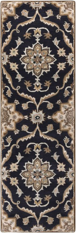 Surya CAE-1113 Caesar Hand Tufted Wool Rug Blue 2 1/2 x 8 Home Decor