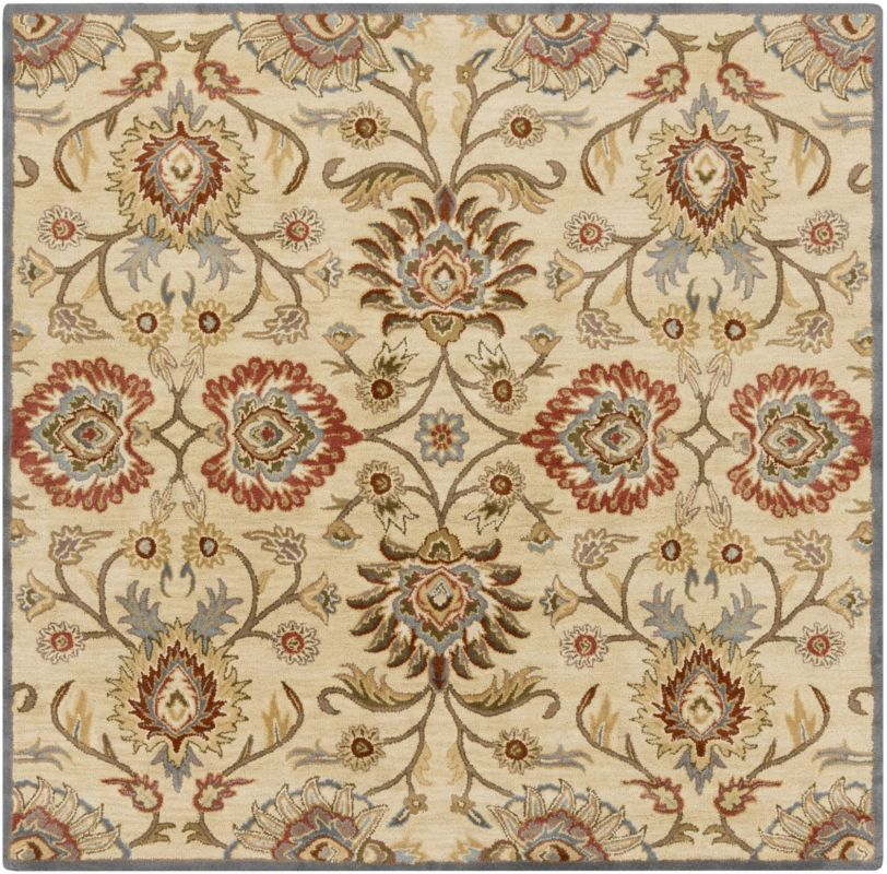 Surya CAE-1116 Caesar Hand Tufted Wool Rug Off-White 6 Square Home Sale $408.60 ITEM: bci2670228 ID#:CAE1116-6SQ UPC: 764262934069 :