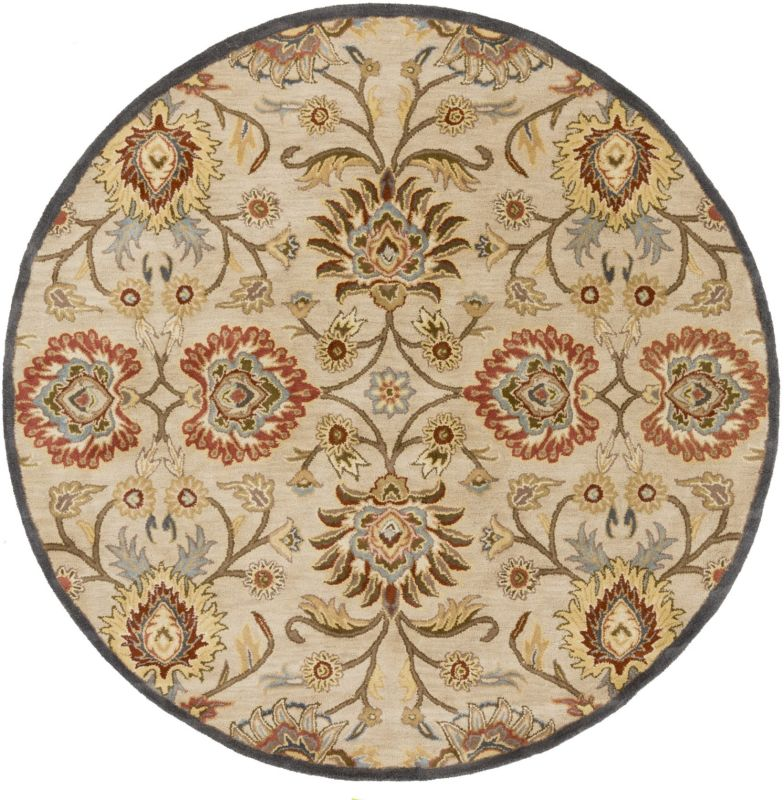 Surya CAE-1116 Caesar Hand Tufted Wool Rug Off-White 10 Round Home Sale $1073.40 ITEM: bci2670235 ID#:CAE1116-99RD UPC: 764262934045 :