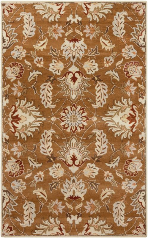 Surya CAE-1117 Caesar Hand Tufted Wool Rug Brown 6 x 9 Oval Home Decor Sale $610.80 ITEM: bci2670248 ID#:CAE1117-69OV UPC: 764262934687 :