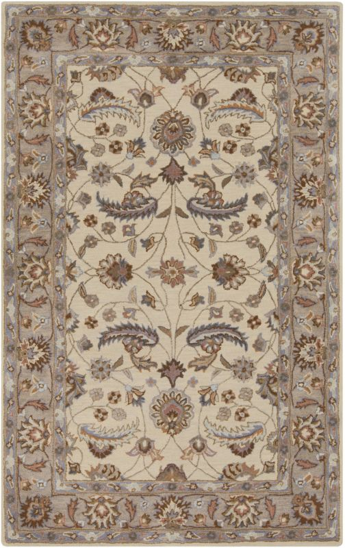 Surya CAE-1118 Caesar Hand Tufted Wool Rug Off-White 6 x 9 Home Decor Sale $555.60 ITEM: bci2670269 ID#:CAE1118-69 UPC: 764262934854 :